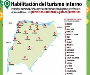 Turismo interno: El viernes habilitarán la web para los permisos