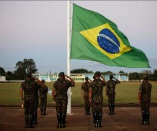 foto: Brasil: Ejército se prepara ante posibles conflictos armados