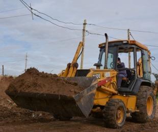 foto: Avanzan las obras de urbanización en el Bañado Sur