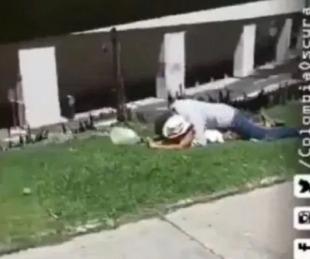 foto: Sin telos abiertos, tuvieron sexo en la calle y fueron filmados