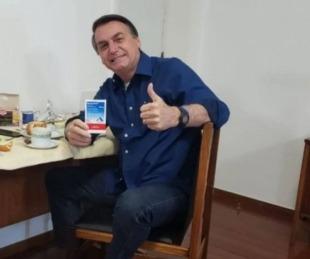 foto: Jair Bolsonaro informó que dio negativo en coronavirus