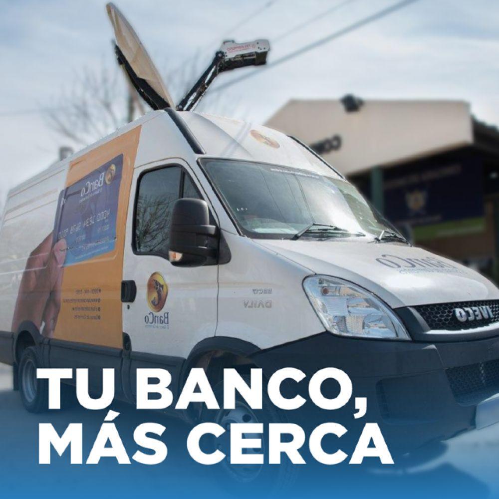 El BanCo móvil estará en Paso de los Libres, Capital e interior