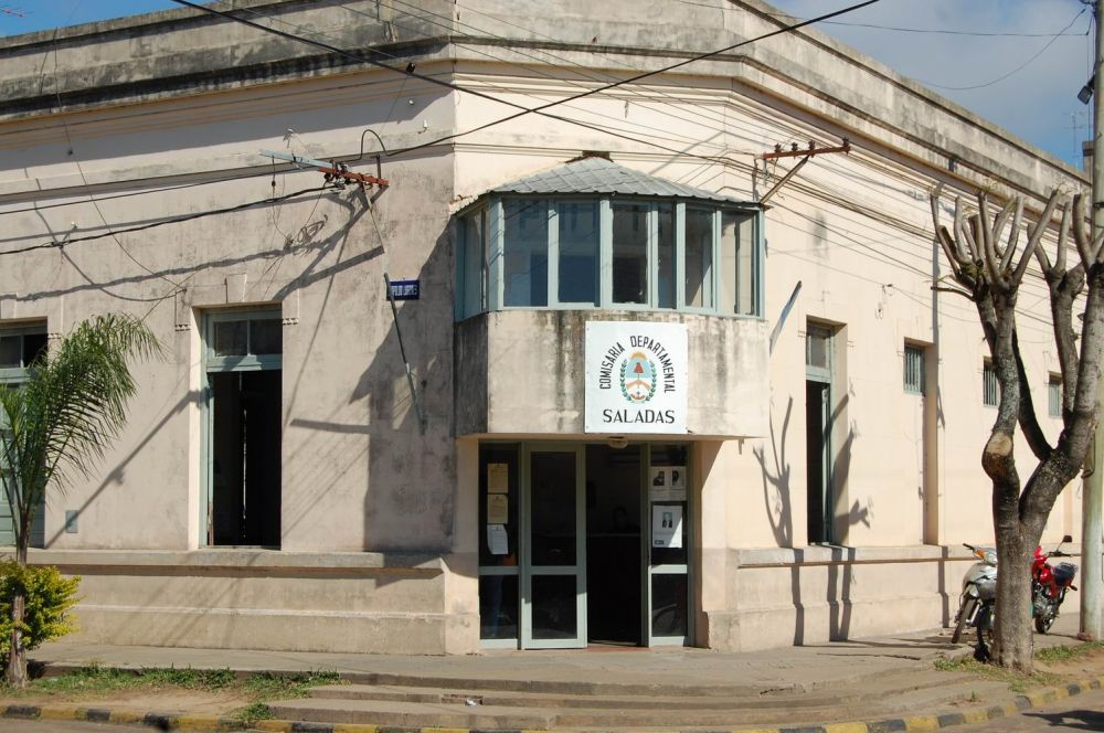 Policía detenido y sumariado por robar a la jueza de Faltas de Saladas