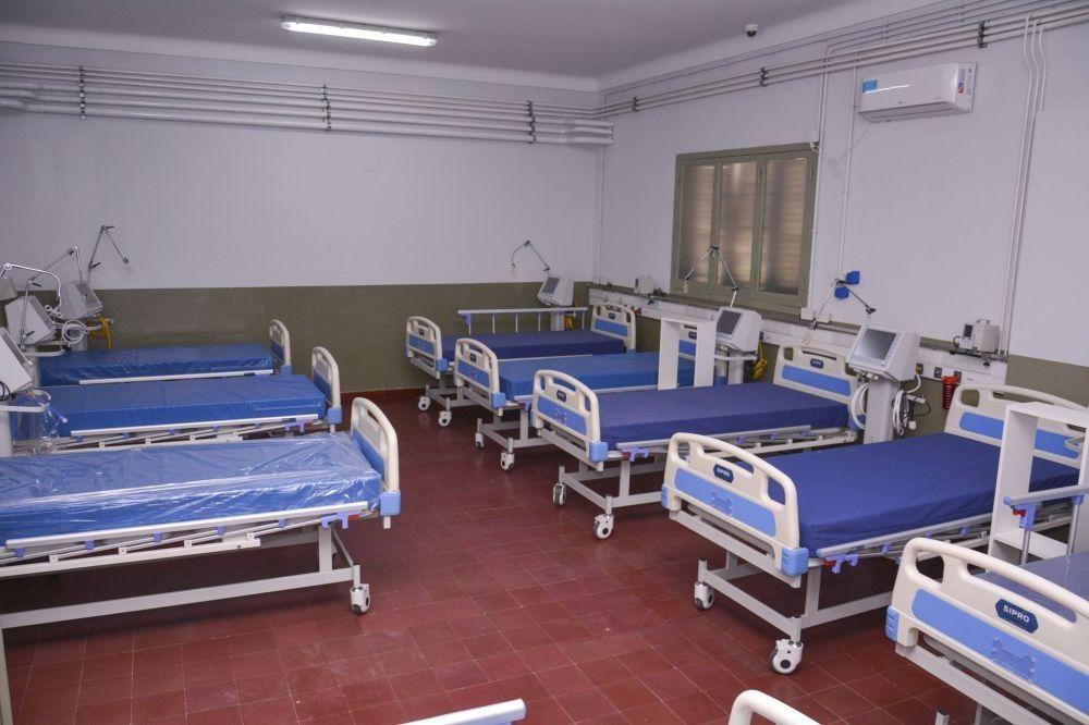 Covid: Hay seis pacientes internados en Hospital de Campaña