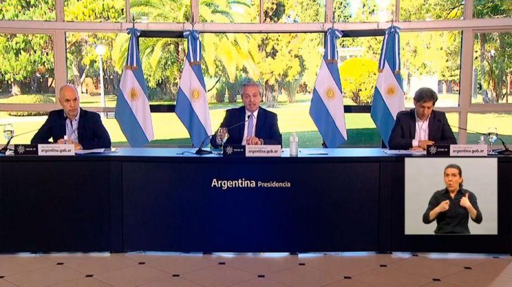 Fernández prepara el anuncio sobre la nueva etapa de la cuarentena