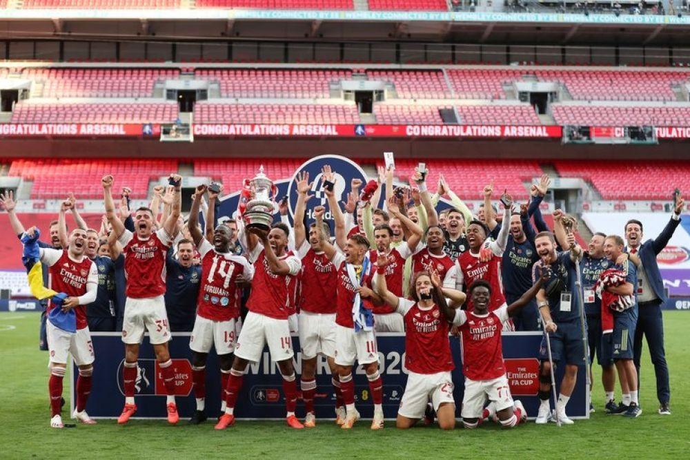 FA Cup: Arsenal remontó el partido ante Chelsea y salió campeón