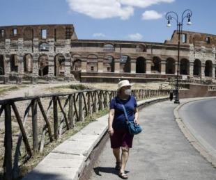 foto: Italia: reportan descenso de contagios y muertes por coronavirus