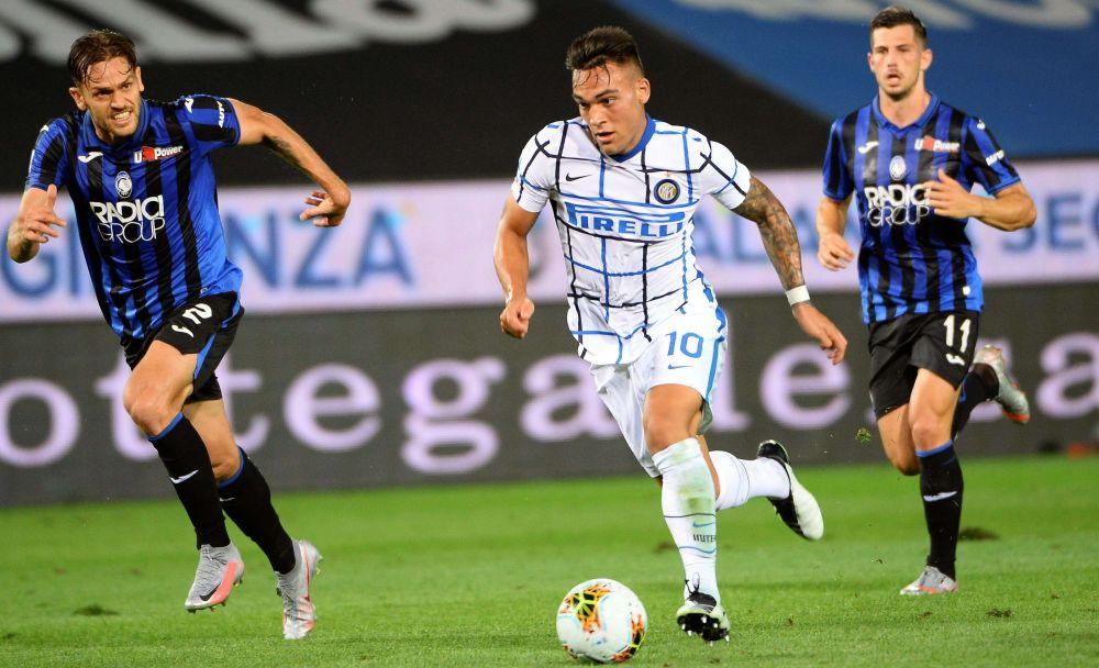 Inter venció a Atalanta y quedó segundo en la liga italiana