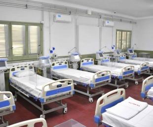 Hay 14 pacientes internados en el Hospital de Campaña