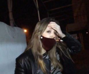 foto: Periodista sufrió el robo del celular en vivo mientras hacía una nota