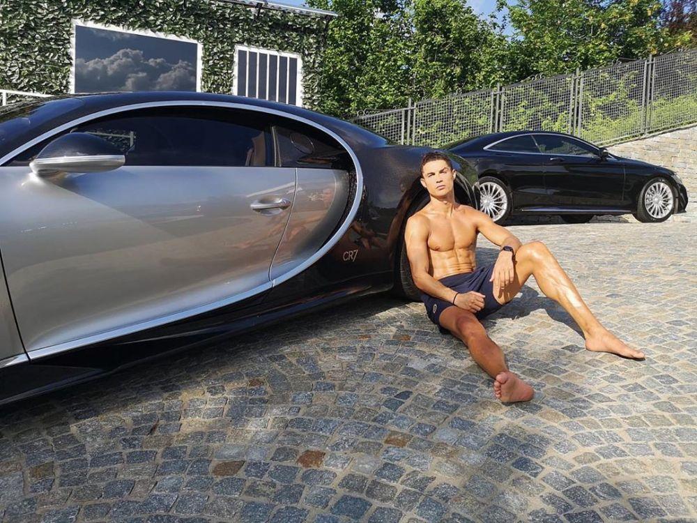 Cristiano Ronaldo se regaló un Bugatti tasado en 8 millones de euros