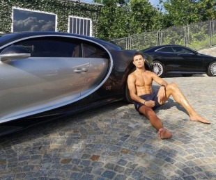 foto: Cristiano Ronaldo se regaló un Bugatti tasado en 8 millones de euros