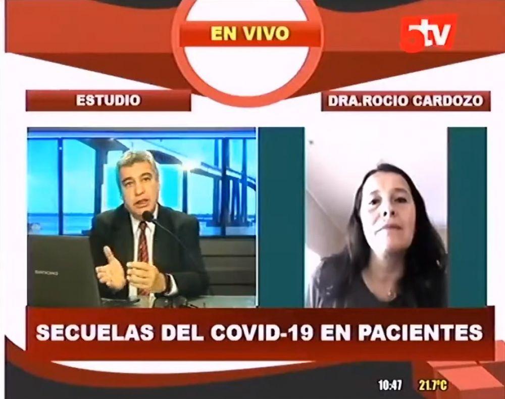 Secuelas que deja el Covid 19 en los pacientes recuperados