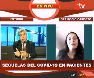 foto: Secuelas que deja el Covid 19 en los pacientes recuperados