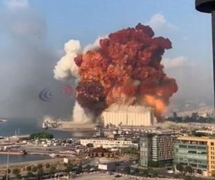 foto: Explosión en Beirut: habría más de 50 muertos y 2700 heridos