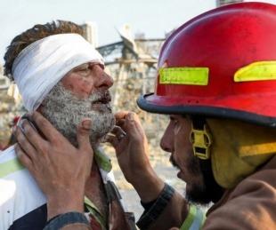 foto: Primeras hipótesis: qué causó las terribles explosiones en Beirut