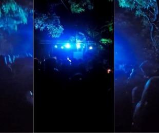 foto: Coronavirus: ordenan aislamiento de todas las personas que participaron de la fiesta clandestina