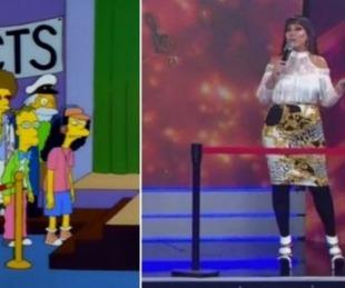 foto: La renuncia en vivo de Moria, fue predecido por Los Simpsons