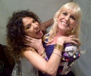 foto: Patricia Sosa y Valeria Lynch, nuevamente enfrentadas
