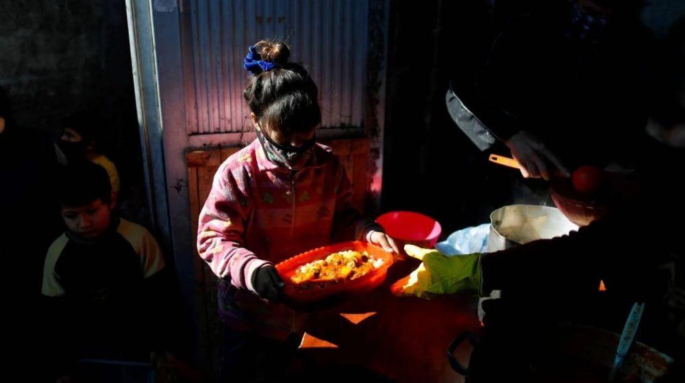 La pobreza alcanzará al 63% de los chicos de todo el país