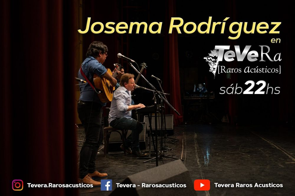 Josema Rodríguez estrena banda en el noveno programa de TeVera
