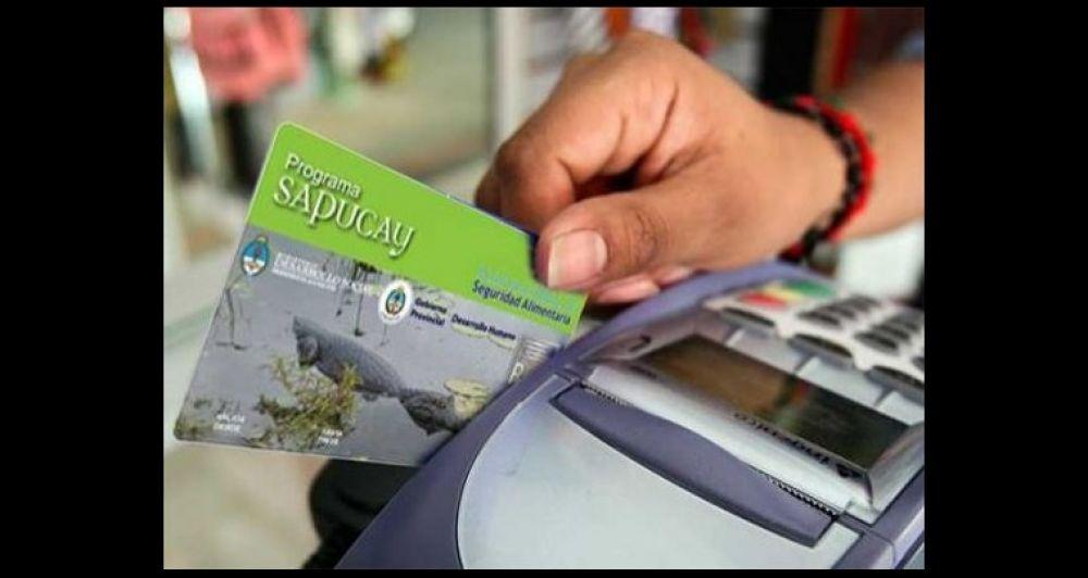 Desarrollo Social negó que las tarjetas Sapucay estén habilitadas
