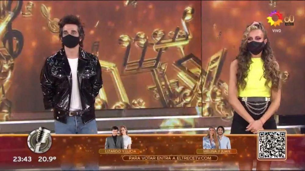 Melina Lezcano y Juan Pérsico, los primeros eliminados del Cantando