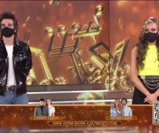 foto: Melina Lezcano y Juan Pérsico, los primeros eliminados del Cantando