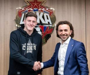 foto: Con Oreiro y  Arana, el particular video con el que CSKA recibió a Gaich