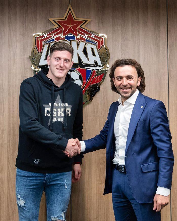 Con Oreiro y  Arana, el particular video con el que CSKA recibió a Gaich