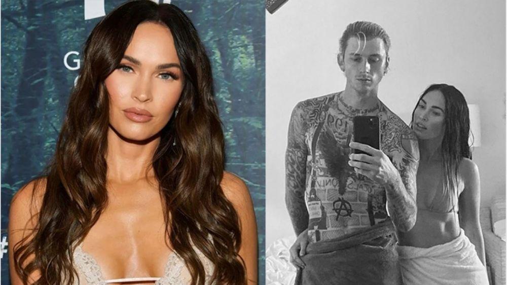 Megan Fox y su nuevo novio posaron juntos por primera vez