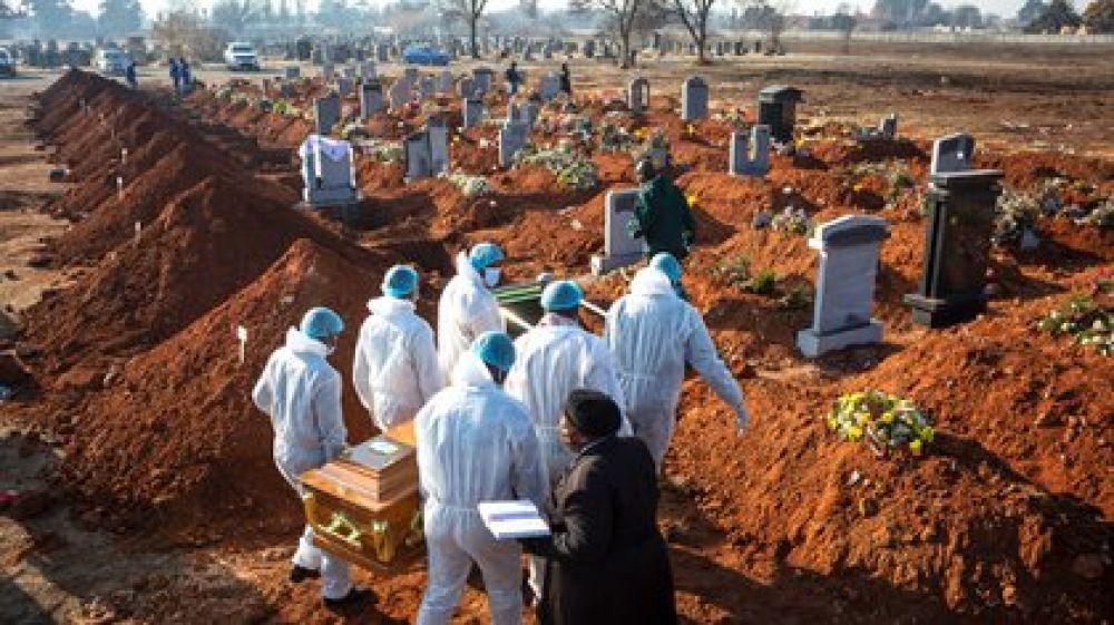 África superó el millón de casos de coronavirus