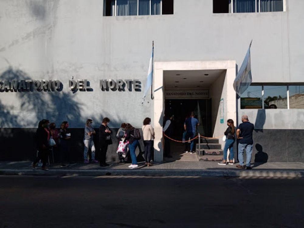 El Ministro de Salud adelantó que se estudia el cierre preventivo del Sanatorio Norte por casos de Covid