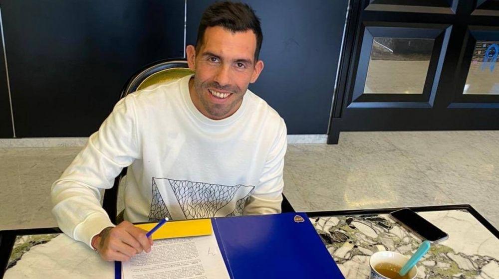 Boca Juniors: Carlos Tevez firmó su nuevo contrato con el club