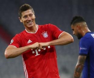 foto: Bayern Munich aplastó al  Chelsea y clasificó a cuartos de Champions