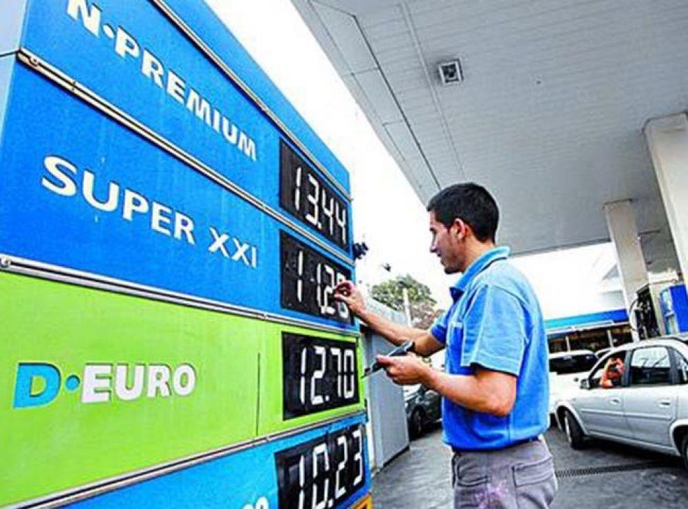 Nafta: Nación autorizará una suba del 7% en combustible