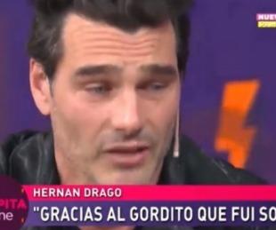foto: ¿Qué le pasó? Hernán Drago lagrimeó en el programa de Pampita