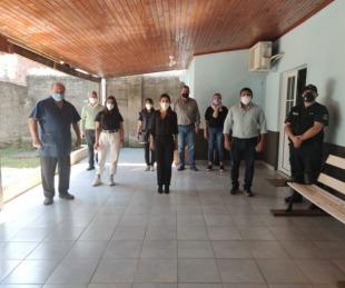 foto: Alvear: Salud coordinó acciones con el comité de crisis local