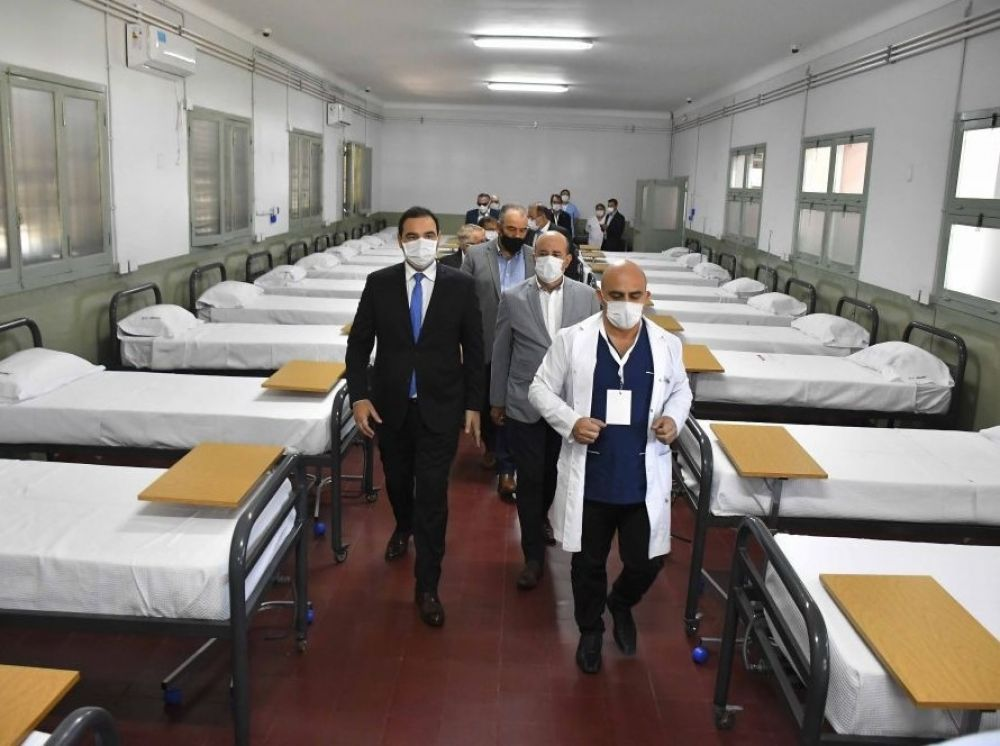 Coronavirus: el Hospital de Campaña tiene 33 internados