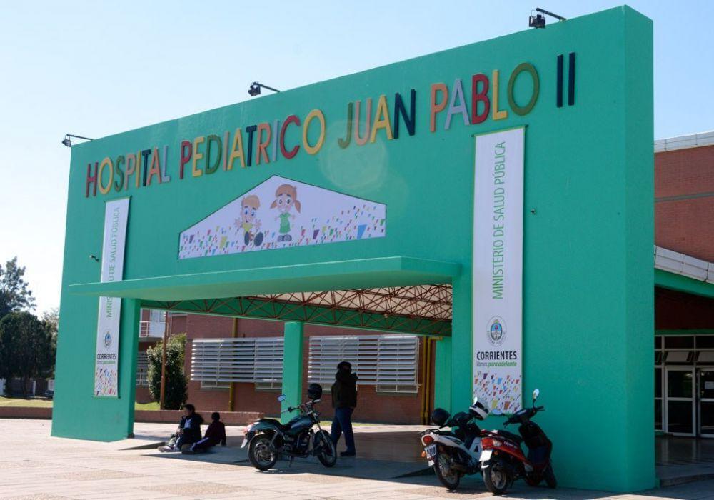 El foco de contagio de los 21 casos se dio en el Hospital Pediátrico