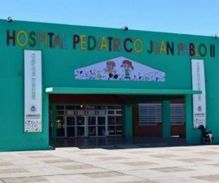 Hospital Pediátrico: entre los contagiados hay niños y familiares