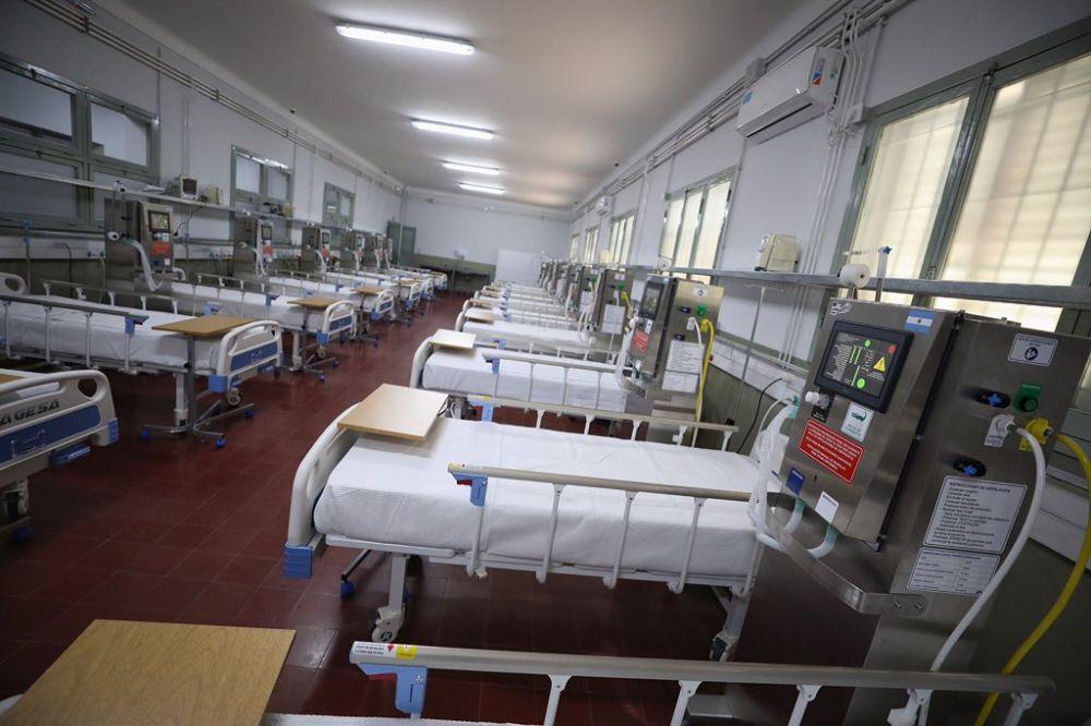 Hospital de Campaña: Hay 11 pacientes positivos de coronavirus