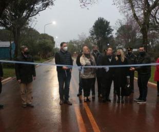 foto:  Valdés inauguró obras y anunció más infraestructura para San Carlos