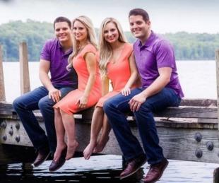 foto: Son gemelas, se casaron con gemelos y ahora están embarazadas al mismo tiempo