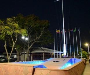 foto: Se reinauguró el recuperado monumento al general San Martín