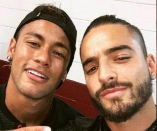 foto: En vivo, Maluma se refirió a la relación de Neymar con su ex novia tras la polémica