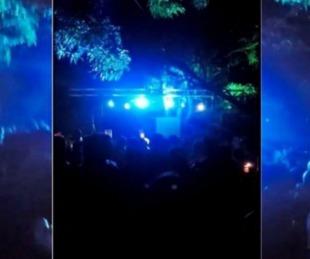 foto: Fiesta clandestina: organizadores se abstuvieron de declarar