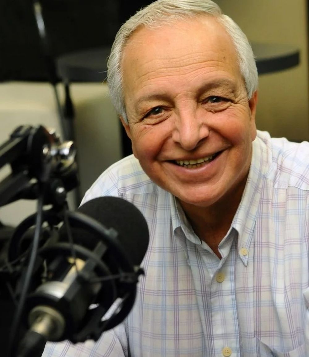 La radio es mi pasión, dijo la voz de las noticias de Radio Mitre