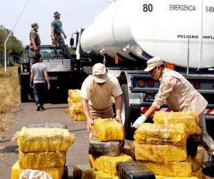 foto: Secuestran cargamento de más de 8.300 kilos de droga en Ituzaingó