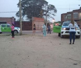 foto: Realizaron testeos en la Escuela de la Policía y en varios barrios